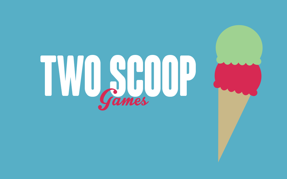 Two Scoop Games Logo