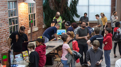 Two Scoop Games at Free Range Arcade 2014